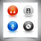 Buttons for web. Royalty Free Stock Photo