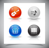 Buttons for web. Royalty Free Stock Image