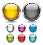 Buttons for web design. Stock Photos