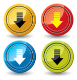 Buttons for web design. Royalty Free Stock Photo