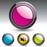 Buttons for web design. Stock Image