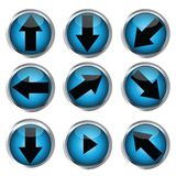 Buttons for web design Stock Photo