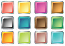 Buttons for Web devices 3 Royalty Free Stock Photo