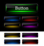 Buttons for web. Vector. Stock Images