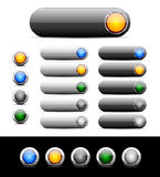 Buttons for web. Vector. Stock Photography