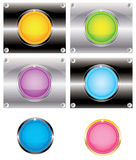 Buttons for web (vector). Buttons for a web or icon for a computer Royalty Free Illustration