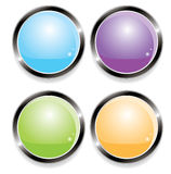 Buttons for web (vector) Stock Image