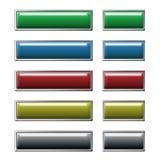 buttons website Arkivbild