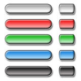 Buttons for website Stock Images