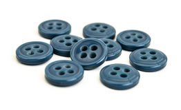 Buttons on white background Stock Photography