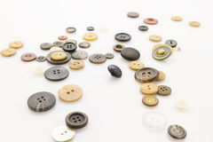 Buttons on white Royalty Free Stock Photo