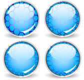 Buttons With Grid Royalty Free Stock Photography