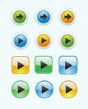 buttons22 Fotografering för Bildbyråer