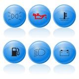 buttons3汽车万维网 图库摄影