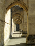 Buttress Arches Of Winchester Cathedral Royalty Free Stock Image