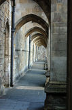 Buttresses, Winchester Cathedral Royalty Free Stock Photos