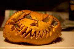 Butwiejąca Halloween bania obrazy royalty free