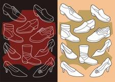 buty ilustracji