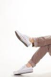 Buty dla nastolatków obrazy royalty free