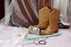 Buty dla panny młodej w Południowa Afryka Fotografia Stock