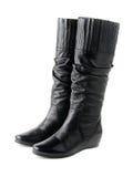 buty heel niskie kobiety Zdjęcia Royalty Free