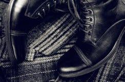 Buty i odziewają Zdjęcie Royalty Free