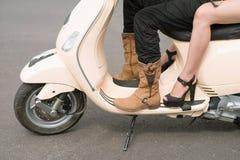 Buty i pięty Fotografia Royalty Free