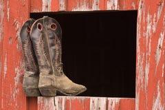 buty kowboja Zdjęcia Stock