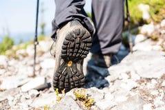 buty na pieszą wycieczkę zdjęcia royalty free