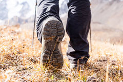 buty na pieszą wycieczkę obraz stock