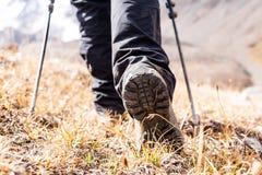 buty na pieszą wycieczkę obraz royalty free