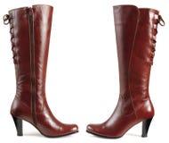 buty odizolowywający Fotografia Royalty Free