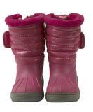 buty odizolowywający menchii śnieg wodoodporny Obraz Royalty Free