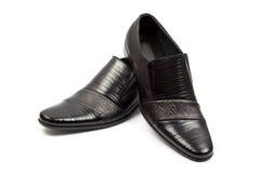 Buty odizolowywający na biel Fotografia Royalty Free