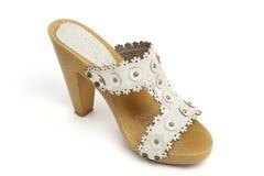 buty przerzedżą kobiety Zdjęcia Royalty Free