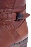buty są szczegółowo określone nowej zimy kobiety Obrazy Royalty Free