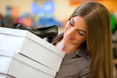 buty target2615_1_ sklep kobiety Zdjęcie Stock
