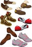buty ustawiający Obrazy Royalty Free