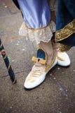 Buty w Wenecja, Włochy Obrazy Royalty Free