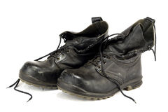 buty wietrzeli pracownika Fotografia Stock