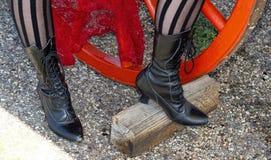 Buty zrobili dla chodzić obrazy royalty free
