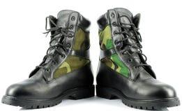 buty zwalczają wojskowego zdjęcie royalty free