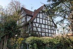 butzbach Alemania de la ciudad histórica fotografía de archivo libre de regalías
