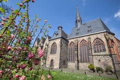 butzbach Alemania de la iglesia de Markus imagen de archivo libre de regalías