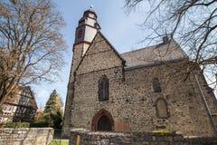 butzbach Germania della chiesa di Markus fotografie stock libere da diritti