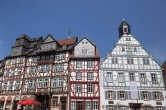butzbach Germania della città storica fotografia stock libera da diritti