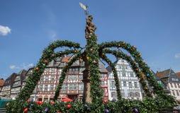 butzbach Germania della città storica fotografia stock