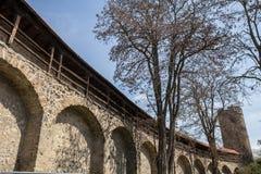 butzbach storico Germania del muro di cinta immagine stock