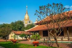 buu长的寺庙 库存图片