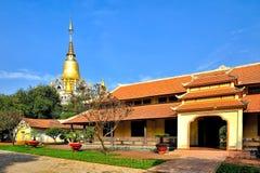buu长的寺庙 库存照片
